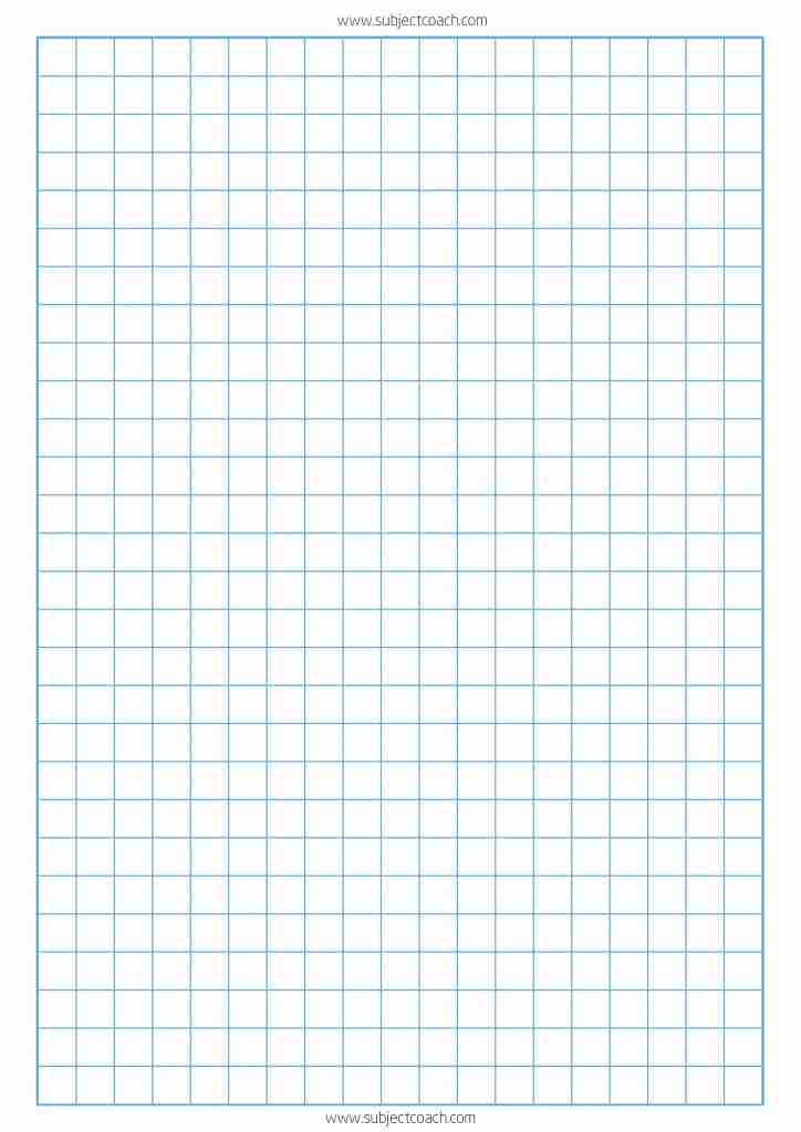 This is a picture of Massif Printable 1 Inch Graph Paper
