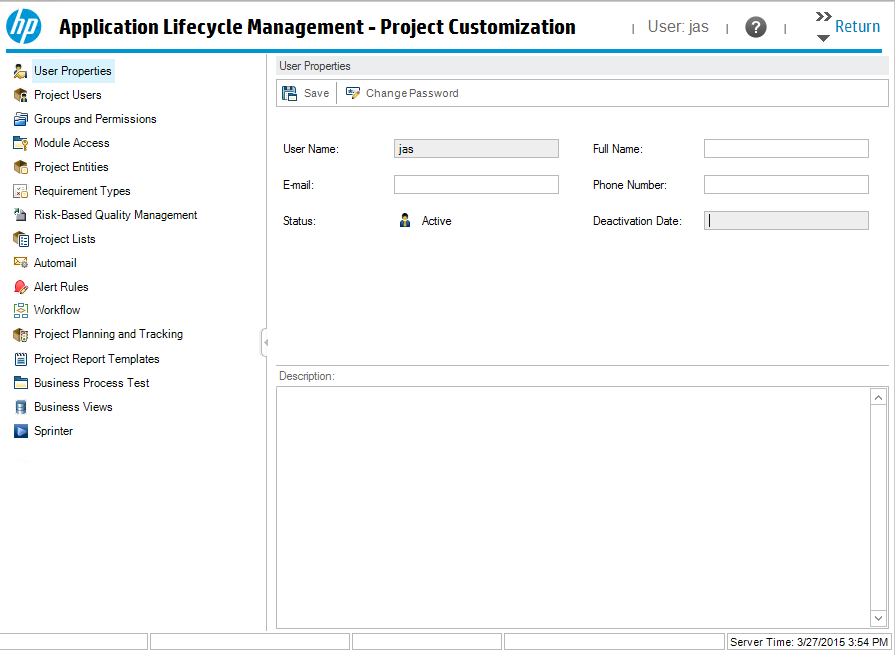 project customization hp quality center quickly get started