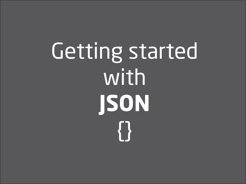 SubjectCoach | Getting start with JSON
