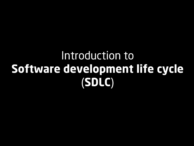 SubjectCoach | Introduction to software development life cycle (SDLC)