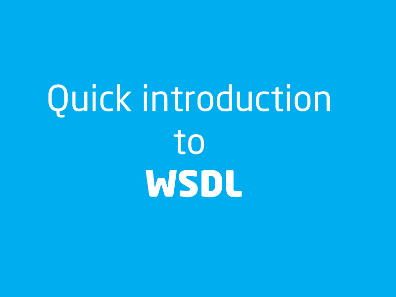 SubjectCoach | A quick overview of WSDL (Web Services Description Language)