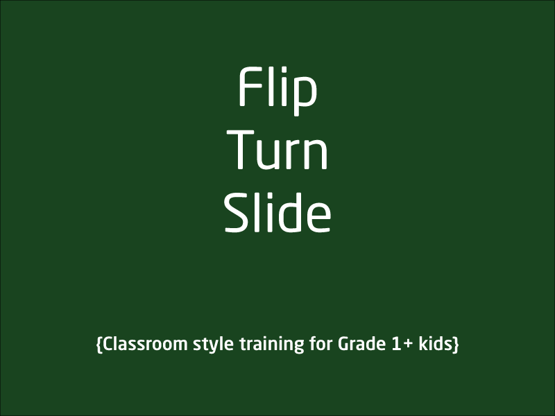 SubjectCoach | Flip Turn and Slide