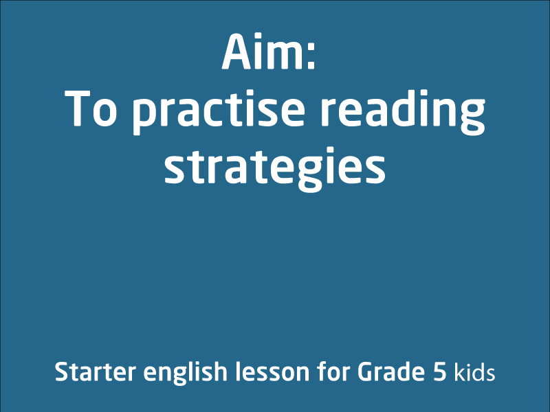 SubjectCoach | Practice reading strategies