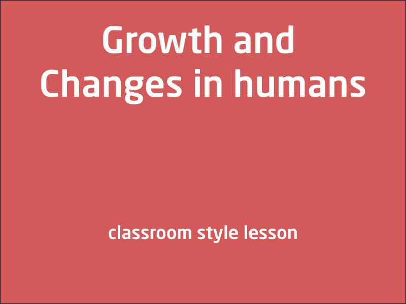 SubjectCoach | Human growth and characteristics