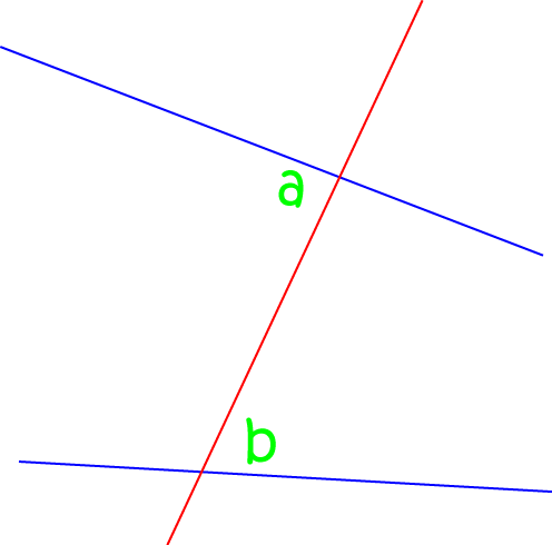 Definition of Alternate Interior Angles - Math Definitions - Letter A
