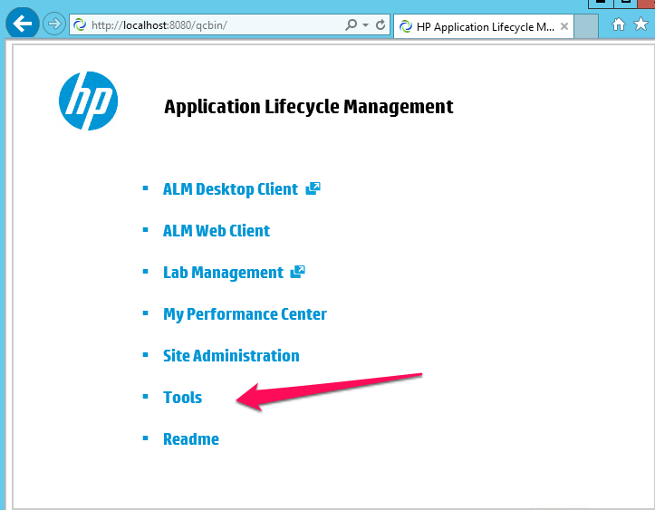 How to integrate ALM with Quality Center - HP Quality Center