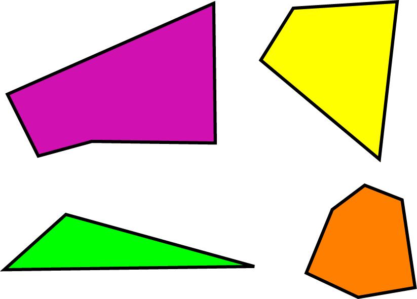 Irregular Polygon - Math Definitions - Letter I