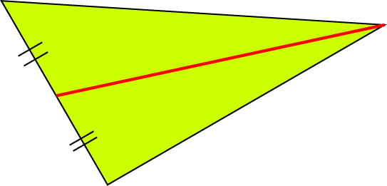 Definition of Median of a Triangle
