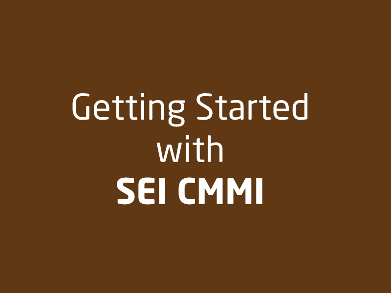 SubjectCoach | Getting Started with SEI CMMI