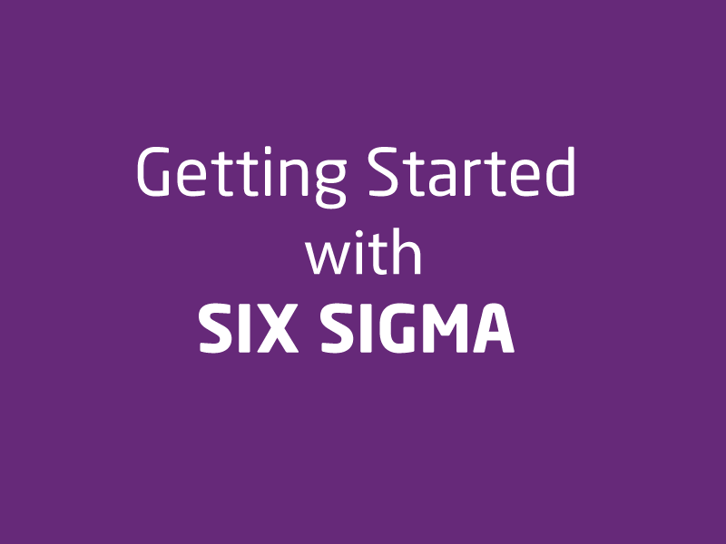 SubjectCoach | Getting started with Six Sigma
