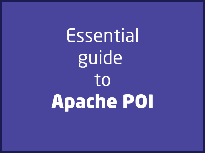 SubjectCoach | Quick introduction to Apache POI