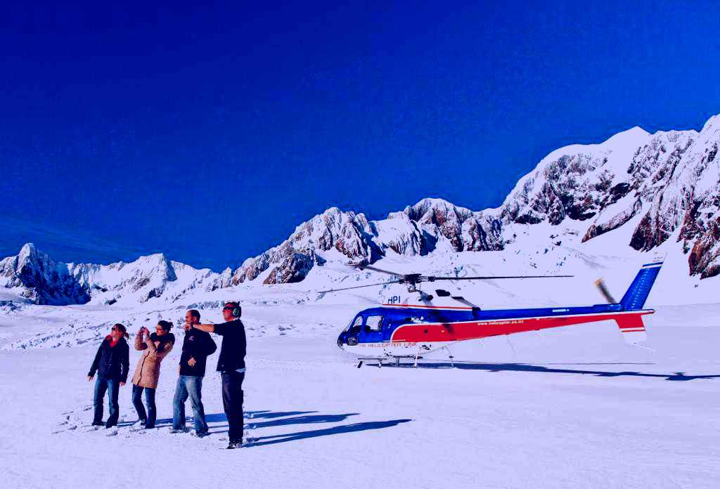 SubjectCoach | The Helicopter Line Fox Glacier