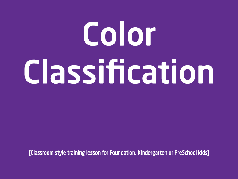 SubjectCoach | Learn Colours with examples for PreSchool, Kindergarten and Foundation kids