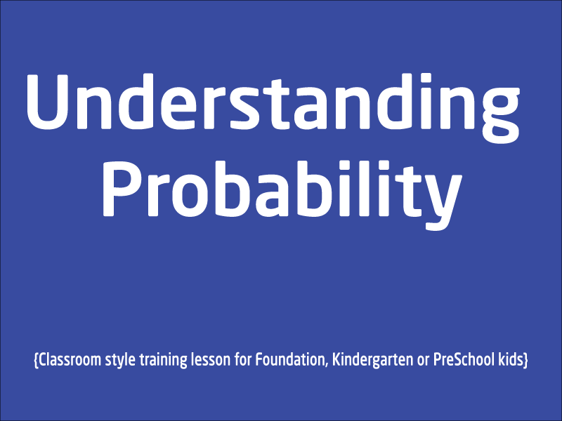 SubjectCoach | Learn Probability Foundation and Preschool kids