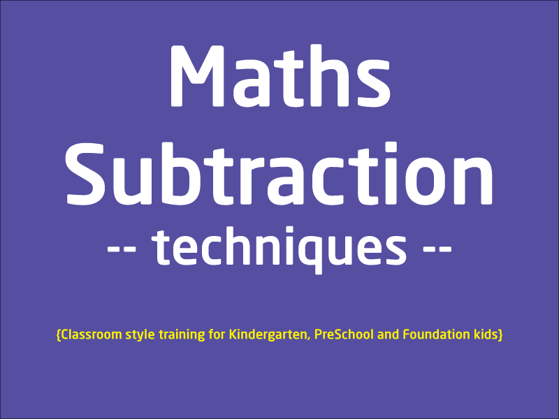 SubjectCoach | Learn Subtraction