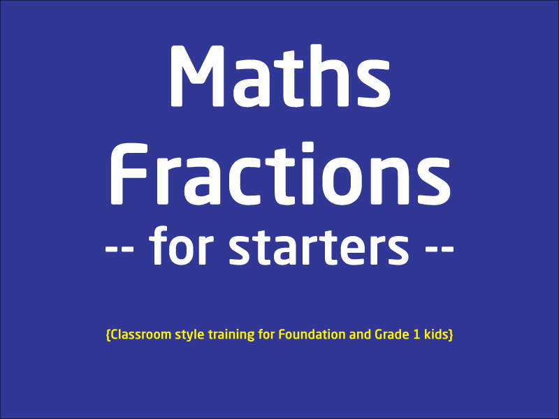 SubjectCoach | Fractions for Starters