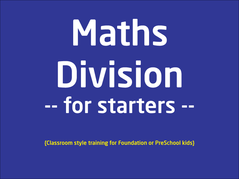 SubjectCoach | Maths division - The Basics