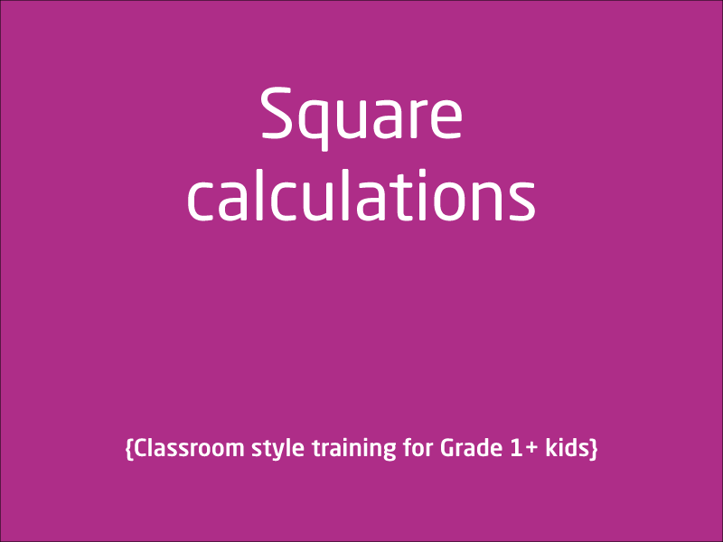 SubjectCoach | What is Square in Maths?