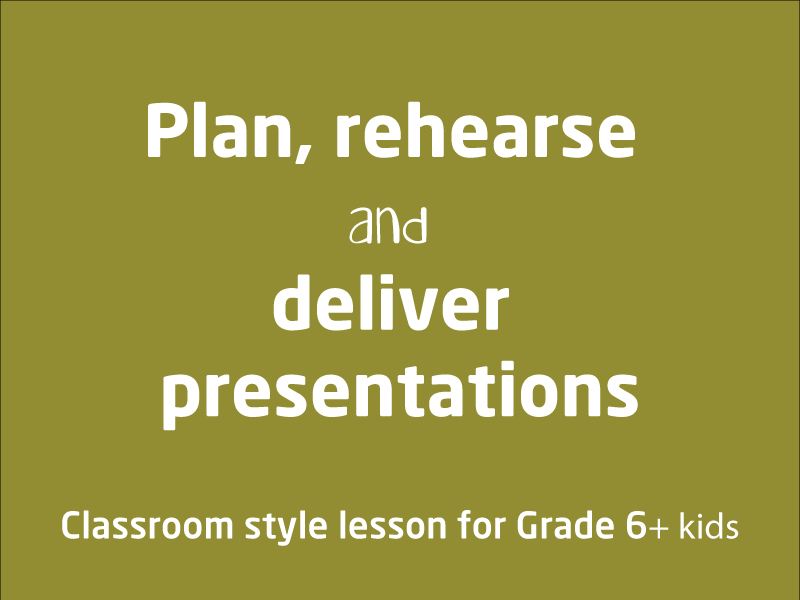 SubjectCoach | Plan, rehearse and deliver presentations