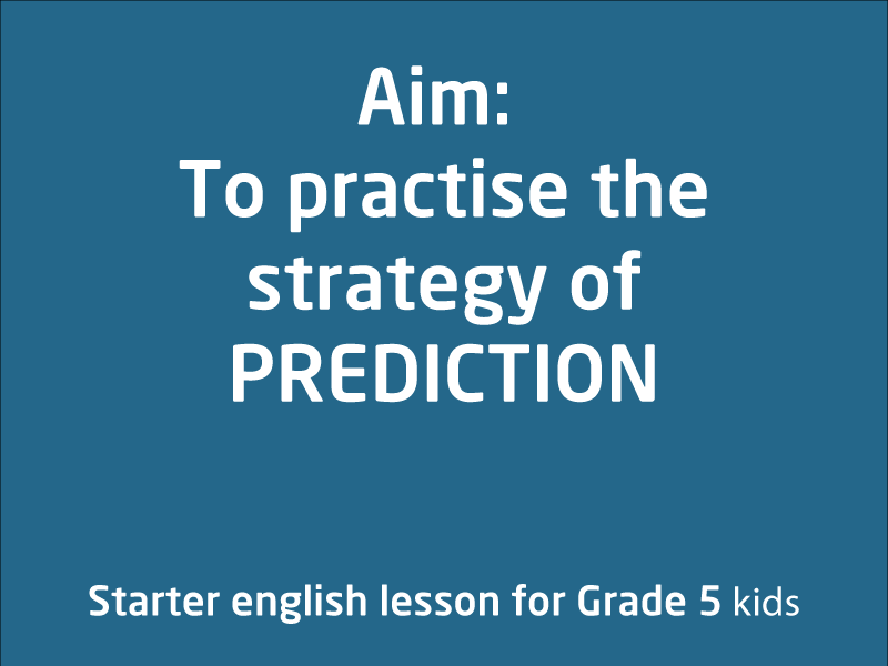 SubjectCoach | Practice the strategy of prediction