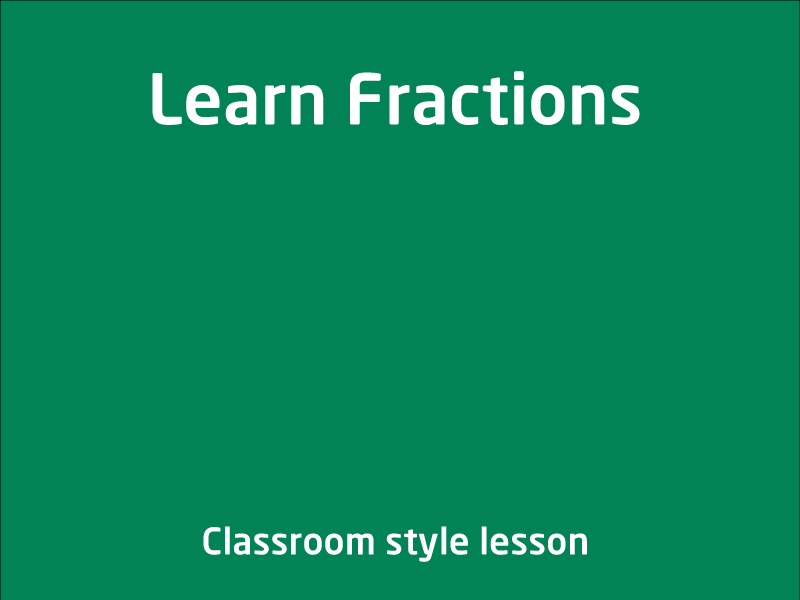 SubjectCoach | Learn Fractions