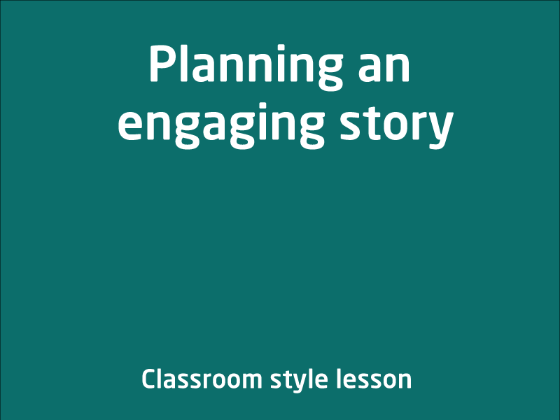 SubjectCoach | Planning an engaging story