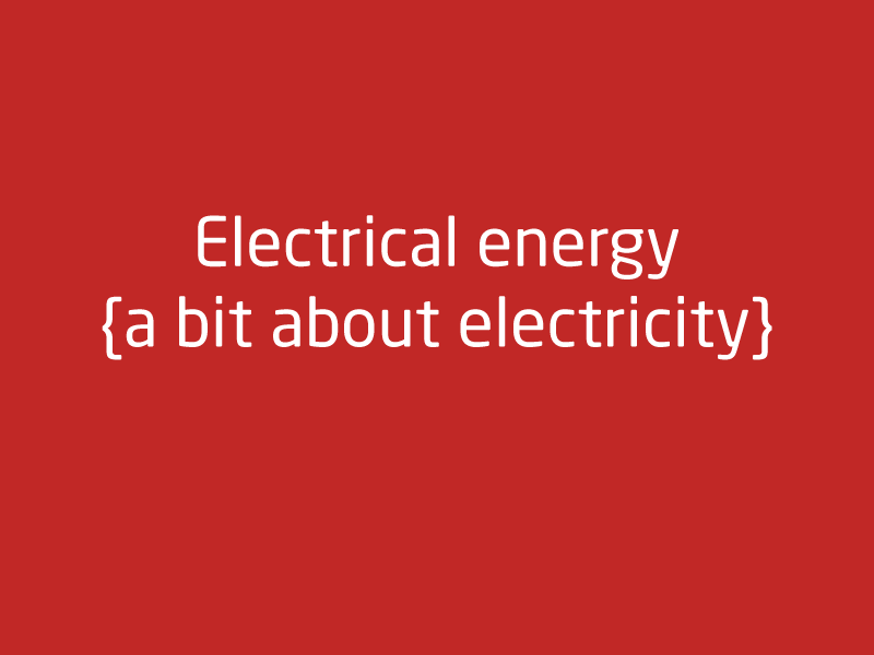 SubjectCoach | Electrical energy