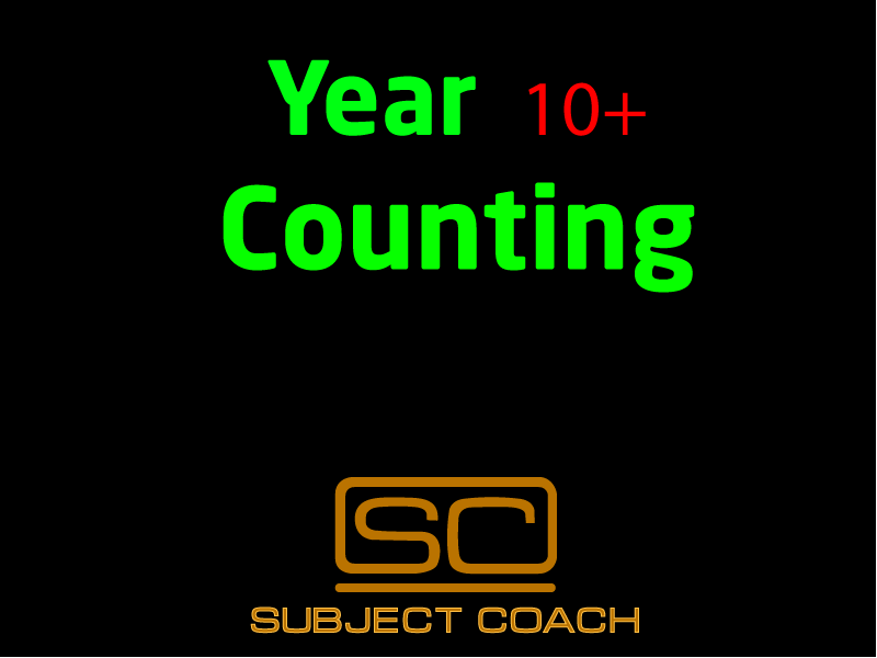 SubjectCoach | Counting
