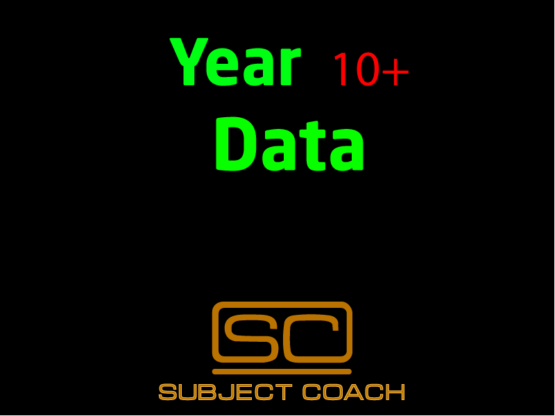 SubjectCoach | Data