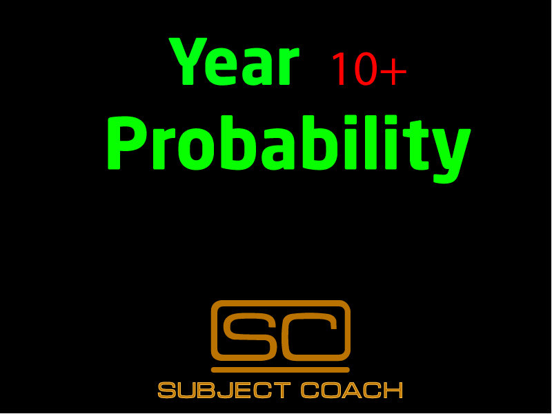 SubjectCoach | Probability