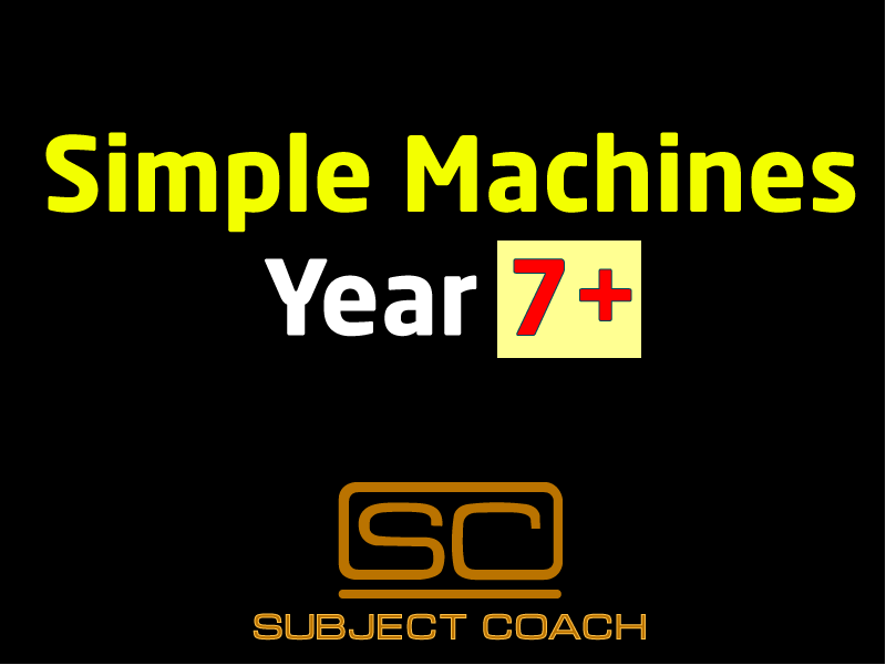 SubjectCoach | Simple Machines