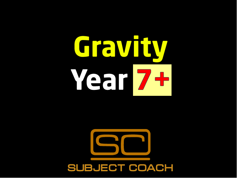 SubjectCoach | Gravity