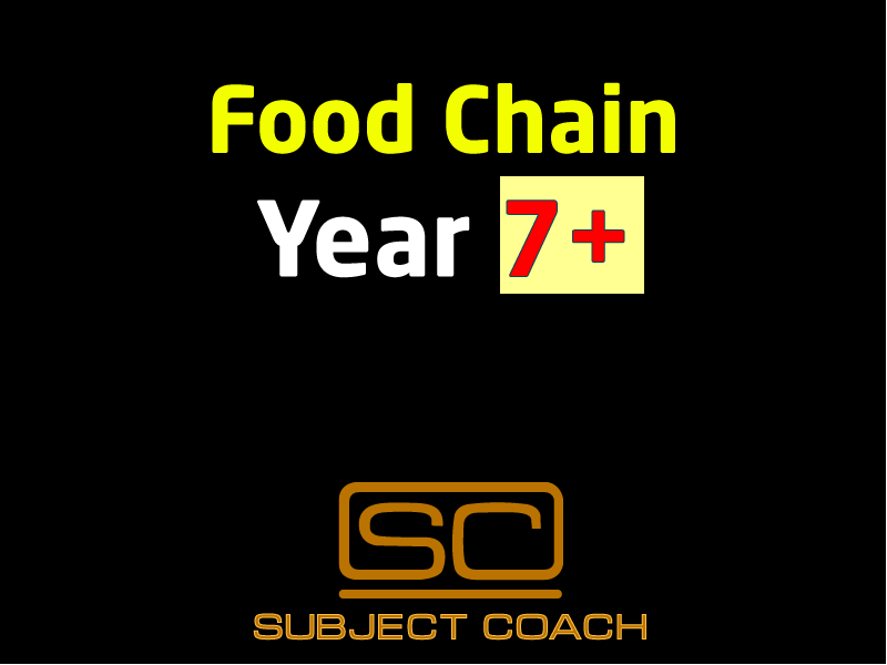 SubjectCoach | Food Chains