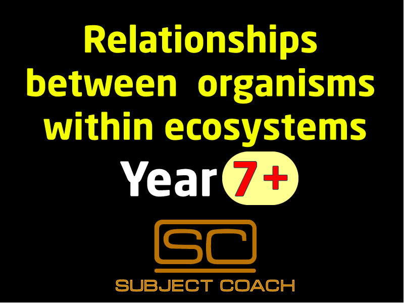 SubjectCoach | Ecology