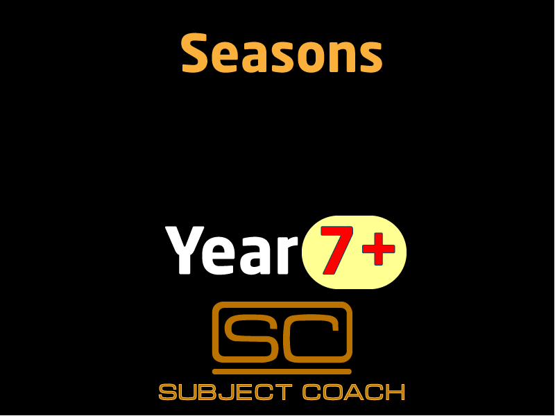 SubjectCoach | Seasons