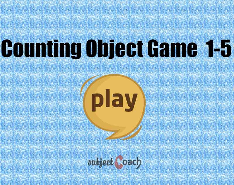 Count upto 5 objects in interactive way